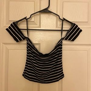 Forever 21 Off Shoulder Crop Top (S)